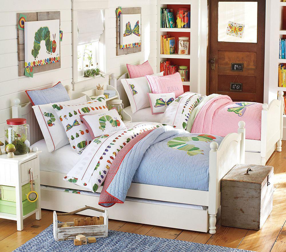 Дизайн дитячої кімнати для хлопчика і дівчинки
