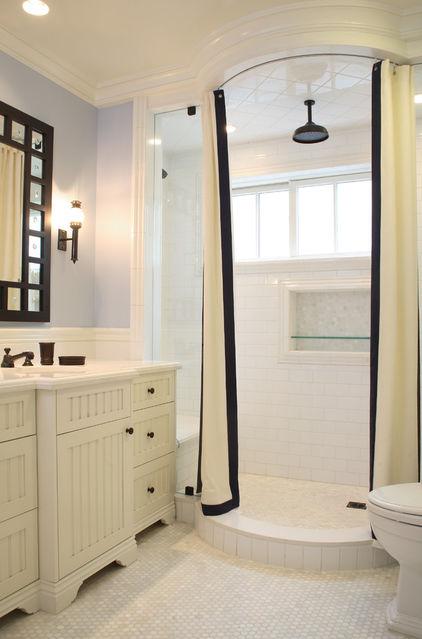 душ в строительном исполнении фото
